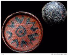 Ancien Plateau De Marchand Laqué Byat / Old Burmese Seller's Lacquerware Platter - Art Asiatique