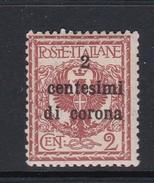 Venezia Giulia N65 1919 Italian Stamps Overprinted 2c On 2c Orange Brown  Mint Hinged - 8. WW I Occupation