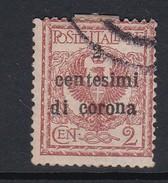 Venezia Giulia N65 1919 Italian Stamps Overprinted 2c On 2c Orange Brown  Used - 8. WW I Occupation
