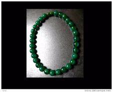 Collieren Galalithe Beau Vert Lumineux Années 50 / Vintage 50´s Galalithe Necklace - Necklaces/Chains