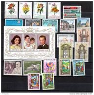 Luxembourg  Année 1988  Complète, 1140 / 1163**, Cote 52 €, - Années Complètes