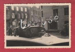 Beaumont ... Destructions Mai 1940 - Photo 9,2 Cm /6,2 Cm ( Voir Verso ) - Beaumont