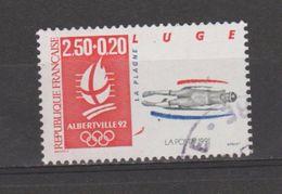 FRANCE / 1991 / Y&T N° 2679a : Luge (du Bloc Avec Papier Brillant Sans Bord) - Choisi - Cachet Rond - France