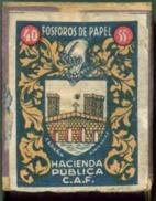 Old Matchbox - Paper Matches - Spain 1940 - Zündholzschachteln