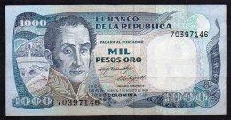 551-Colombie Billet De 1000 Pesos Oro 1984 - 703 - Colombie