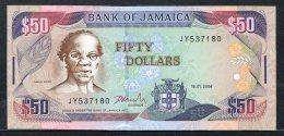 443-Jamaïque Billet De 50 Dollars 2004 JY537 Neuf - Jamaique