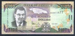 493-Jamaïque Billet De 100 Dollars 2006 ADU911 - Jamaique