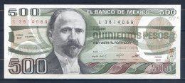 506-Mexique Billet De 500 Pesos 1983 DP L361 - Mexique