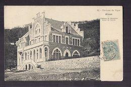 CPA 30 - ALZON - Environs Du VIGAN - Château De Monsieur Arnal De Currel - TB PLAN EDIFICE - France
