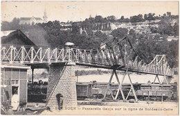 47. AGEN. Passerelle Gauja Sur La Ligne De Bordeaux-Cette. 243 - Agen