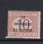 Venezia Giulia NJ9 1919 Italian Stamps Overprinted 10c On 10c Buff And Magenta Mint Never Hinged - 8. WW I Occupation