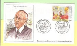 1er Jour 1984. 14 Avril. Pierre Bonnard.. Cote 2013.. 6.00 € . Ttb. N'hesitez Pas à Visiter Ma Boutique.+++! - FDC