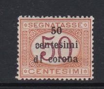 Venezia Giulia NJ13 1919 Italian Stamps Overprinte 50c On 50c Buff And Magenta Mint Hinged - 8. WW I Occupation