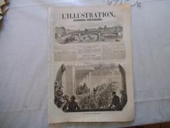 L'ILLUSTRATION JOURNAL UNIVERSEL N°293 7 OCTOBRE 1848 INSURRECTION DE FRANCFORT-FÊTES DE BRUXELLES-LA RENTREE DES CLASSE - Libri, Riviste, Fumetti