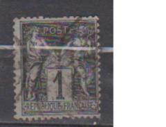 FRANCE      N° YVERT  :  83  ( 4 )     OBLITERE - 1876-1898 Sage (Type II)
