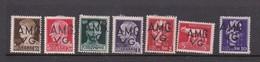 Venezia Giulia And Istria  A.M.G.V.G.  S 1-7 1945 Definitives  Mint Hinged - 7. Trieste