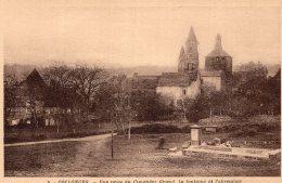 V11307 Cpa 19 Collonges - Vue Prise Du Cimetière Grand, La Fontaine Et L'abruvoir - Non Classés
