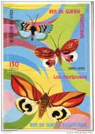 (cl.38 - P.14) (lot 1) Guinée équatoriale **  - Bloc - Papillons - - Butterflies