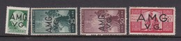 Venezia Giulia And Istria  A.M.G.V.G. S 11-15 1946 Definitives  Mint Hinged - Trieste