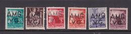 Venezia Giulia And Istria  A.M.G.V.G. S 16-21 1947 Definitives  Mint Hinged - Trieste