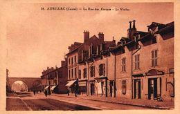 AURILLAC -15- LA RUE DES CARMES LE VIADUC - Aurillac