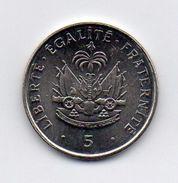 Haiti - 1997 - 5 Centimes - Vedi Foto - (MW257) - Haiti