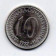 Jugoslavia - 1982 - 10 Dinara - Vedi Foto - (MW259) - Jugoslavia