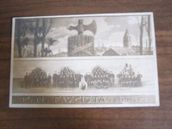CARTOLINA P.N.F. SESTRI PONENTE (CERIANI) - Militari