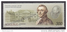 Armenia - Armenie 2001 Yvert 398, 50th Ann. Death Of Hovhannes Lazarian - MNH - Arménie