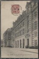 CPA - PARIS - NOUVELLE CASERNE SAPEURS POMPIERS - RUE CARPEAU - Edition G.I. - District 18