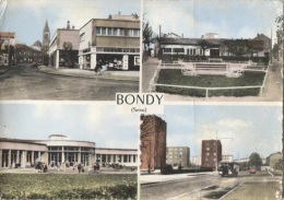 CPSM - BONDY - MULTIVUES - Edition Combier /N°C.11 - Bondy