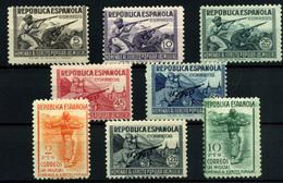 1019-España Nº 792/8. 800 - 1931-50 Nuovi