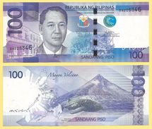 Philippines 100 Piso P-208 2015 UNC - Philippines