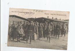 AUS DEM KRIEGSGEFANGENEHLAGER OHRDRUF     RUSSEN ! GANG ZUR REINIGUNGSANSTALT 1915 - Allemagne