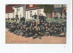 OHRDRUF 28119  BELGISCHE KRIEGSGEFANGENE 1916 - Allemagne