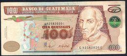 Guatemala - 100 Quetzales 2008 - P119 - Guatemala