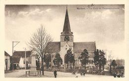 Meldert   -   De Kerk En Gemeenteplaats - Hoegaarden