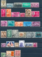 India/Inde/Indien 19471979 31x (Gebr/used/obl/o)(2637) - Verzamelingen & Reeksen