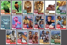 SIERRA LEONE 2016 - Childhood. Definitives, 17v - Mi 8013-29 - Ohne Zuordnung