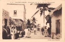 COMORES - H / Principale Rue De La Ville De Mitsamiouli - Comores