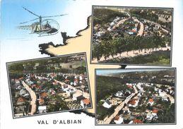 """CPSM FRANCE 91 """"Val D'Albian"""" - France"""