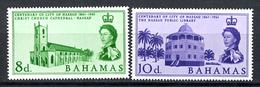 ARCHITECTURE - 1961 - BAHAMAS - Mi. Nr. 183/184 -  NH - (CW2427.49) - Bahamas (1973-...)