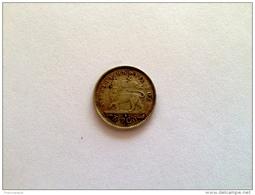 Ethiopia: Menelik Gersh (1/20 Birr) 1895 EE (1903) Argent - Silver - Ethiopia
