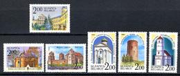 ARCHITECTURE - 1992 - BELARIUS - Mi. Nr. 8/13 -  NH - (CW2427.49) - Bielorussia