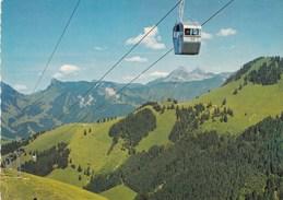 TELECABINE MOLESON-VILLAGE PLAN FRANCEY/EN GRUYERE SUISSE (dil311) - Suisse