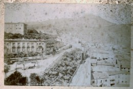 Algerie - Oran - Vues Du Port , Le Djebel Mourdjadio Et Autre ...  - Serie De 4 Photos Collées Sur Carton - Afrique