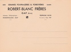 ROBERT-BLANC FRERES GAP (dil311) - Visiting Cards