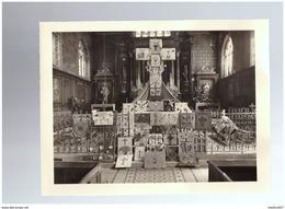 ILLIERS   Photographie Offset  1955     Interieur église - Illiers-Combray
