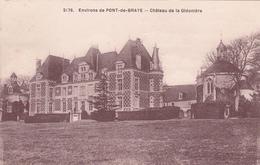 CPA ENVIRON DE PONT DE BRAYE. CHATEAU DE LA GIDONIERE - France