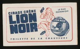 Buvard - CIRAGE CREME - PRODUIT LION NOIR - Buvards, Protège-cahiers Illustrés